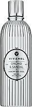 """Profumi e cosmetici Gel doccia """"Orchidea e Sandalo"""" - Vivian Gray Vivanel Orchid & Sandal"""