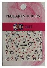 Profumi e cosmetici Adesivi per nail art - Ronney Professional Nail Art Stickers (1pz)