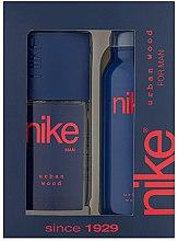 Profumi e cosmetici Nike Men Urban Wood - Set (deo/200ml + deo/spray/75ml)