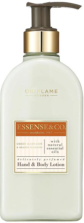 Crema mani e corpo al mandarino verde e fiori d'arancio - Oriflame Essense & Co. — foto N1