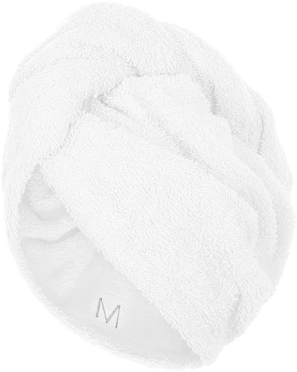 Asciugamano turbante, bianco - MakeUp