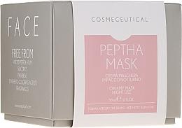 Profumi e cosmetici Maschera crema da notte per viso e collo con estratto di mirtillo rosso - Surgic Touch Peptha Mask