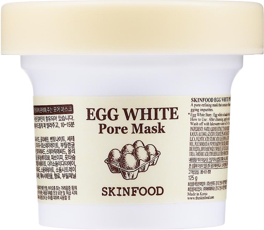 Maschera viso purificante e rassodante all'albume - Skinfood Egg White Pore Mask