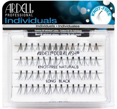 Ciglia finte - Ardell Individuals Duralash Knot-Free Naturals Long Black