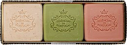 Profumi e cosmetici Set - Essencias De Portugal Aromas Collection Winter Set (soap/3x80g)