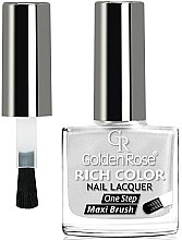Profumi e cosmetici Smalto per unghie - Golden Rose Rich Color