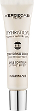Profumi e cosmetici Gel lifting contorno occhi - Verdeoasi Hydrating Eyes Contour Lifting Effect
