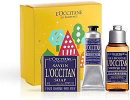 Profumi e cosmetici L'Occitane Pour Homme - Set (sh/gel/75ml + ash/balm/30ml + soap/50g)