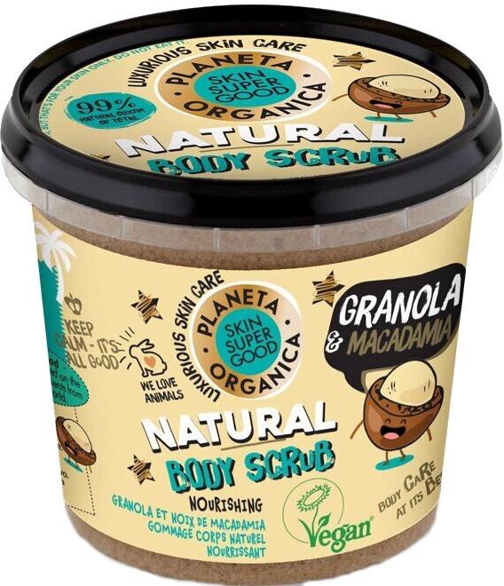 """Scrub corpo """"Granola e Macadamia"""" - Planeta Organica Granola & Macadamia Body Scrub"""