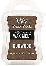 Profumi e cosmetici Cera profumata - WoodWick Wax Melt Oudwood