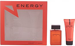 Profumi e cosmetici Concept V Design Energy Men - Set (edt/100ml + ash/balm/100ml)