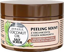 Profumi e cosmetici Peeling al sale con olio di cocco biologico - GlySkinCare Coconut Oil Salt Scrub