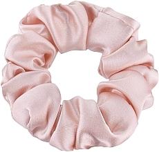 """Profumi e cosmetici Elastico capelli, in seta naturale, rosa cipria, """"Midi"""" - Makeup Midi Scrunchie Powder"""