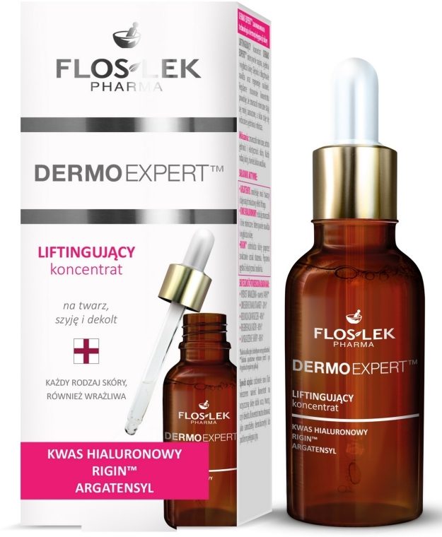 Siero-lifting per viso, collo e décolleté - Floslek Dermo Expert Lifting Serum