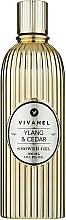 "Profumi e cosmetici Gel doccia ""Ylang-ylang e cedro"" - Vivian Gray Vivanel Ylang & Cedar"