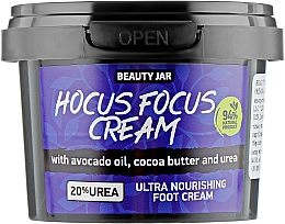 Profumi e cosmetici Crema piedi - Beauty Jar Hocus Focus Cream Ultra Nourishing Foot Cream
