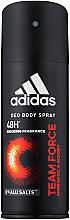 Profumi e cosmetici Adidas Team Force - Deodorante