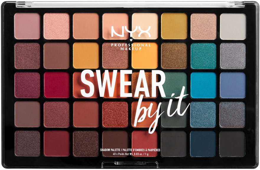 Palette ombretti - NYX Professional Makeup Swear By It Shadow Palette