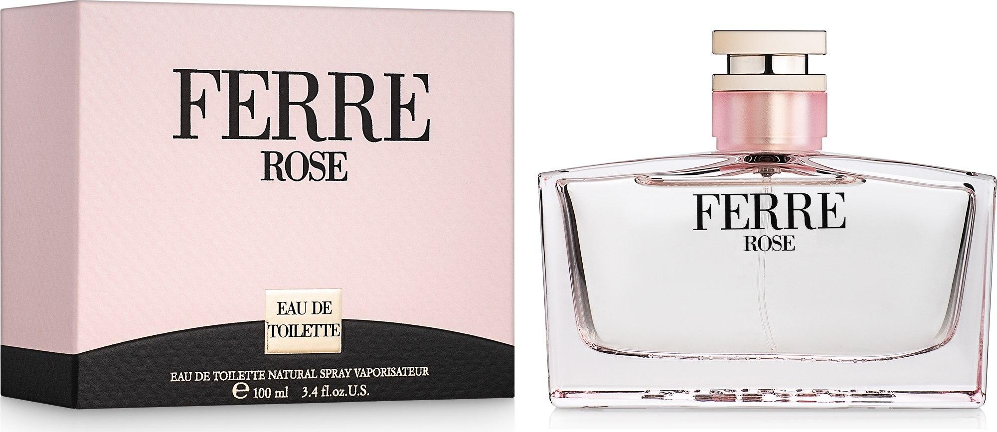 Gianfranco Ferre Ferre Rose - Eau de toilette  — foto 100 ml