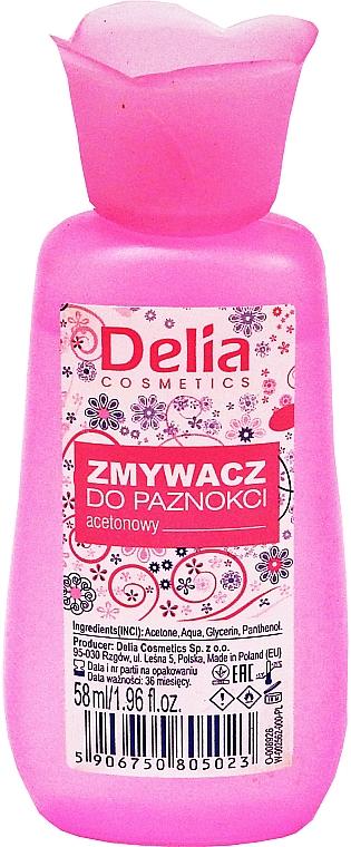 Solvente per unghie - Delia No1 Nail Polish Remover
