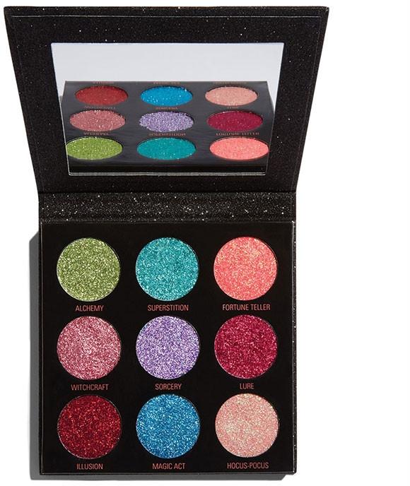 Palette ombretti glitterati - Makeup Revolution Pressed Glitter Palette Abracadabra
