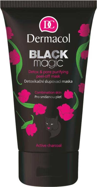 Maschera viso - Dermacol Black Magic Detox&Pore Purifying Peel-Off Mask