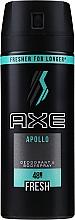Profumi e cosmetici Antitraspirante Spray ''Apollo'' uomo - Axe Deodorant Bodyspray Apollo