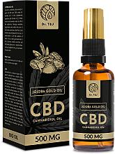 Profumi e cosmetici Olio di jojoba naturale CBD 500mg - Dr. T&J Bio Oil