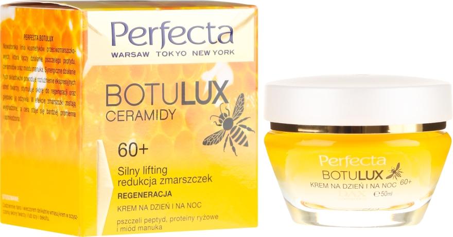 Crema rigenerante per il viso, da giorno e da notte, 60+ - Perfecta Botulux Ceramidy 60+