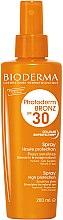 Profumi e cosmetici Spray solare per pelli sensibili - Bioderma Photoderm Bronz SPF30 Protection Spray