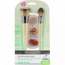 Profumi e cosmetici Set pennelli trucco - Eco Tools Custom Match Duo
