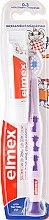 Profumi e cosmetici Spazzolino denti per bambini morbido (0-3 anni), lilla con giraffa - Elmex Learn Toothbrush Soft + Toothpaste 12ml