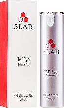 Profumi e cosmetici Crema contorno occhi illuminante - 3Lab M Eye Brightening Cream