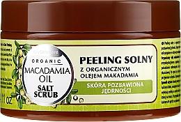 Profumi e cosmetici Peeling al sale con olio di Macadamia - GlySkinCare Macadamia Oil Salt Scrub