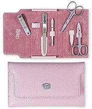 "Profumi e cosmetici Set manicure ""Palmelato Rose"", 5 oggetti - Credo Solingen Luxurious Manicure Set"