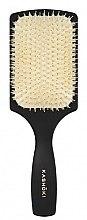 Profumi e cosmetici Spazzola per capelli, con setole naturale, rettangolare - Kashoki