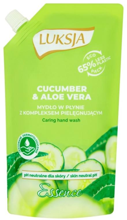 """Sapone liquido """"Cetriolo e Aloe"""" - Luksja Cucumber & Aloe Soap (doypack)"""