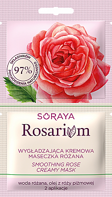 Maschera levigante alla rosa - Soraya Rosarium Smoothing Cream Rose Mask