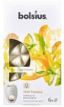"Profumi e cosmetici Cera profumata ""Mango e bergamotto"" - Bolsius True Moods Feel Happy Mango & Bergamot"