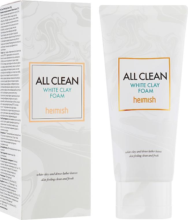 Schiuma detergente viso - Heimish All Clean White Clay Foam