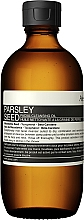 Profumi e cosmetici Olio detergente viso - Aesop Parsley Seed Cleansing Oil