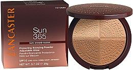 Profumi e cosmetici Cipria abbronzante - Lancaster 365 Sun Protecting Bronzing Face Powder SPF10 Adjustable Glow