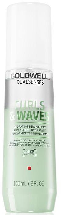Siero spray idratante per capelli ricci - Goldwell Dualsenses Curls & Waves