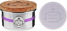 Profumi e cosmetici Sapone naturale - Essencias De Portugal Tradition Aluminum Jewel-Keeper Lavender