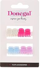 Profumi e cosmetici Fermacapelli FA-9917, Mini Mix, multicolore, 8 pz - Donegal Hair Clip