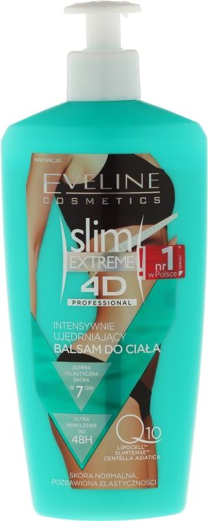 Latte rassodante per pelli secche - Eveline Cosmetics Slim Extreme 4D Intensive Body Balm