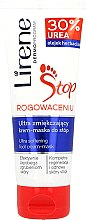 Profumi e cosmetici Maschera-crema per i piedi, ultra-ammorbidente - Lirene Stop Callusness Foot Cream-Mask