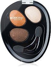 Profumi e cosmetici Ombretto occhi - Deborah Hi-Tech Eye Shadow Trio