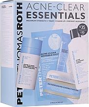 Profumi e cosmetici Set - Peter Thomas Roth Acne-Clear Essentials Kit (patch/12pcs+gel/20ml+patch/20pcs+f/wash/57ml+cr/7.5ml)