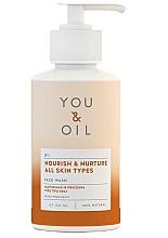 """Profumi e cosmetici Detergente viso """"Nutrizione e cura"""" - You & Oil Nourish & Nurture Face Wash"""